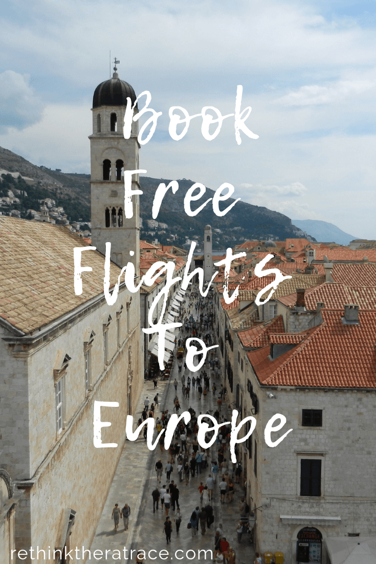 book free flights to Europe