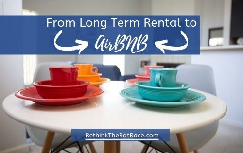 converting long term rental into airbnb
