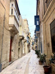 Birgu Malta in January