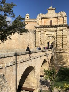 Mdina Malta in January